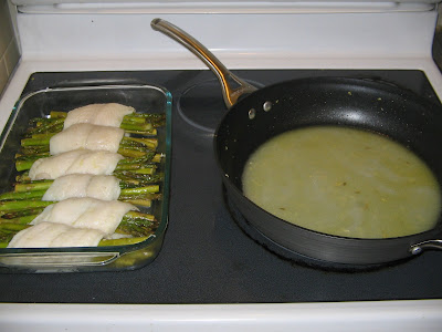 Abby eats cooking swai fish wrapped asparagus for How to bake swai fish