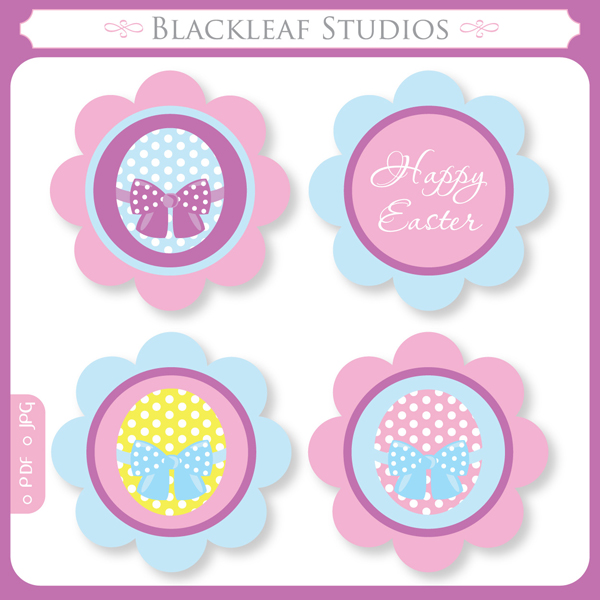 Free printable easter cupcake toppers free download cute free printable easter cupcake toppers pronofoot35fo Image collections