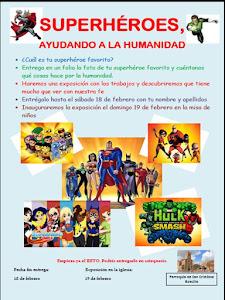 """Exposición: """"Superhéroes, ayudando a la humanidad"""""""