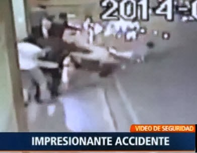 Impresionante Accidente de Moto