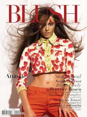 Anna Vorobyeva for Blush Magazine New York