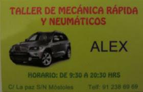 TALLER DE MECÁNICA RÁPIDA ALEX