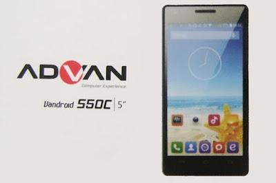 Harga HP Advan Vandroid S50C Spesifikasi Android KitKat Terbaru