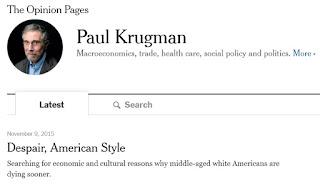 La rubrica di Paul Krugman sul New York Times