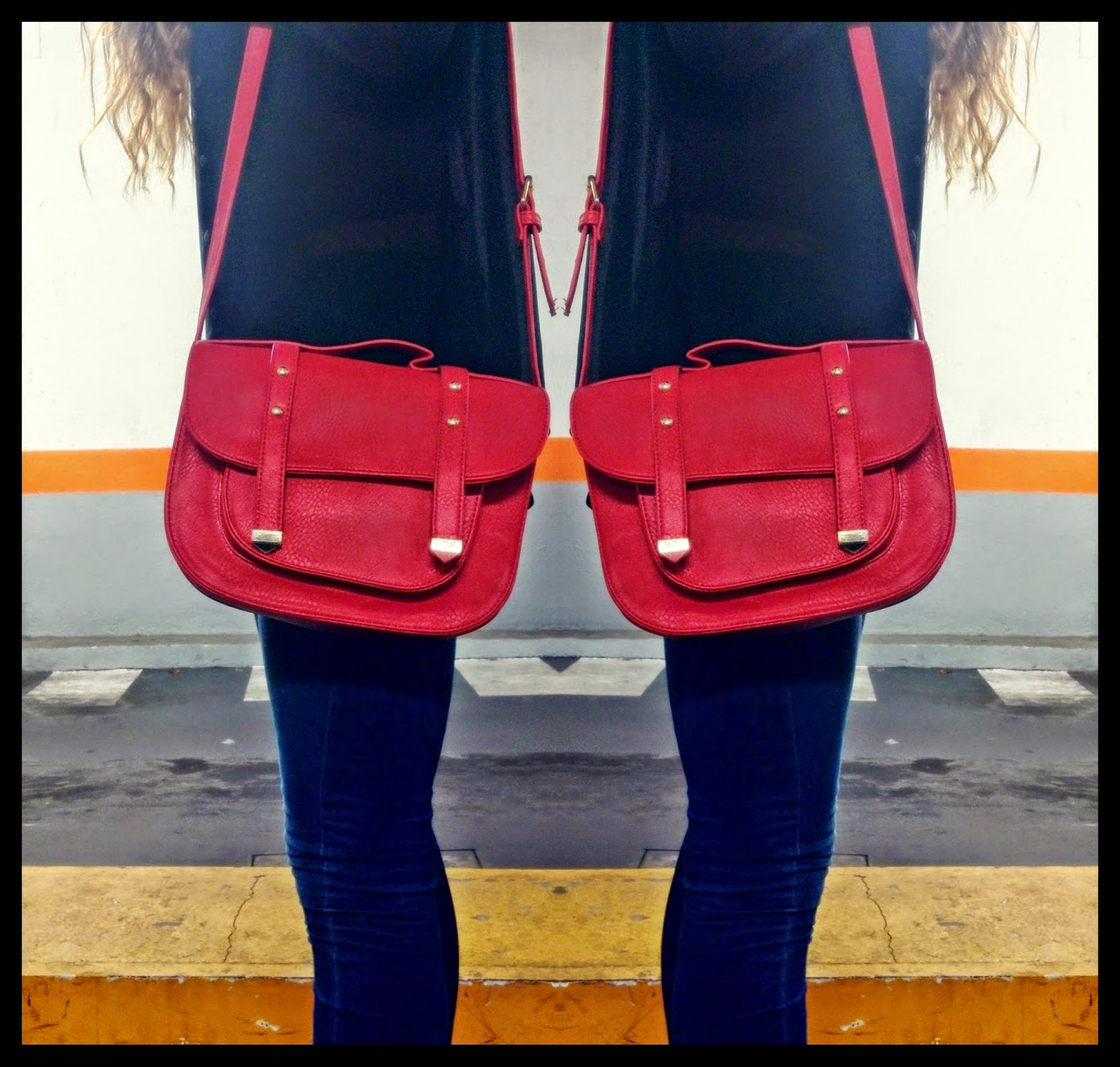 Outfit Bolso Rojo