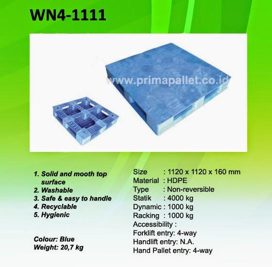 Pallet Plastik murah WN4-1111