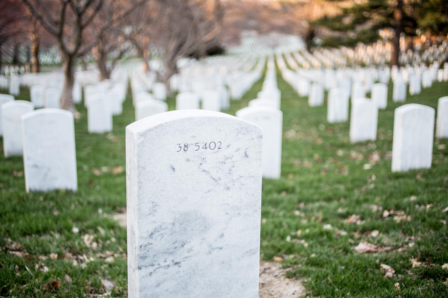 Arlington National Cemetery White Head Stones