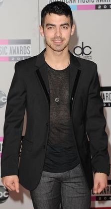 Foto de Joe Jonas en los American Music Awards 2011