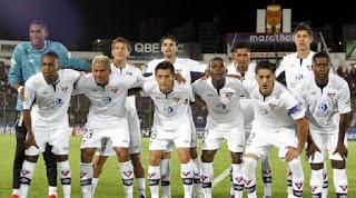 LDU Quito enfrenta a Nacional de Paraguay, Copa Sudamericana 2015