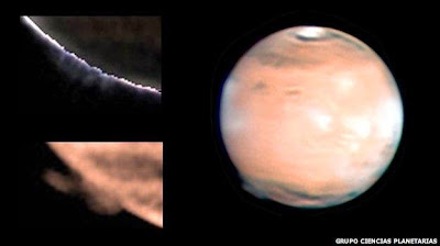 Misteri Kabut Asing yang Mengelilingi Mars