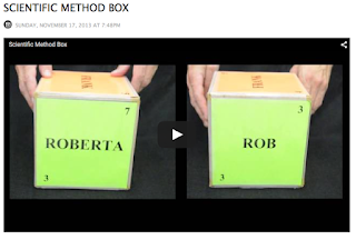 screenshot of Scientific Method Box video