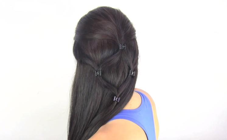 Como Hacer una Trenza de Cascada איך לעשות מפל דלה  - Aprender Hacer Peinados Trenzas