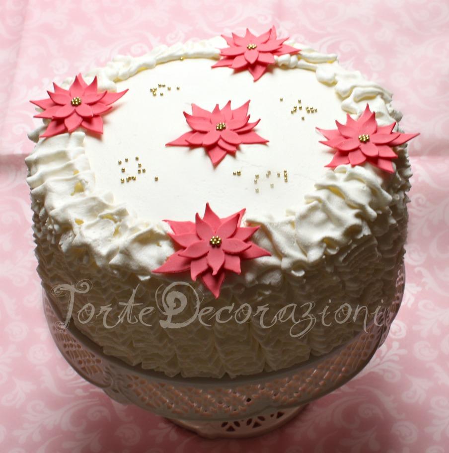 Torte e decorazioni la torta di natale - Decorazioni torte natale ...