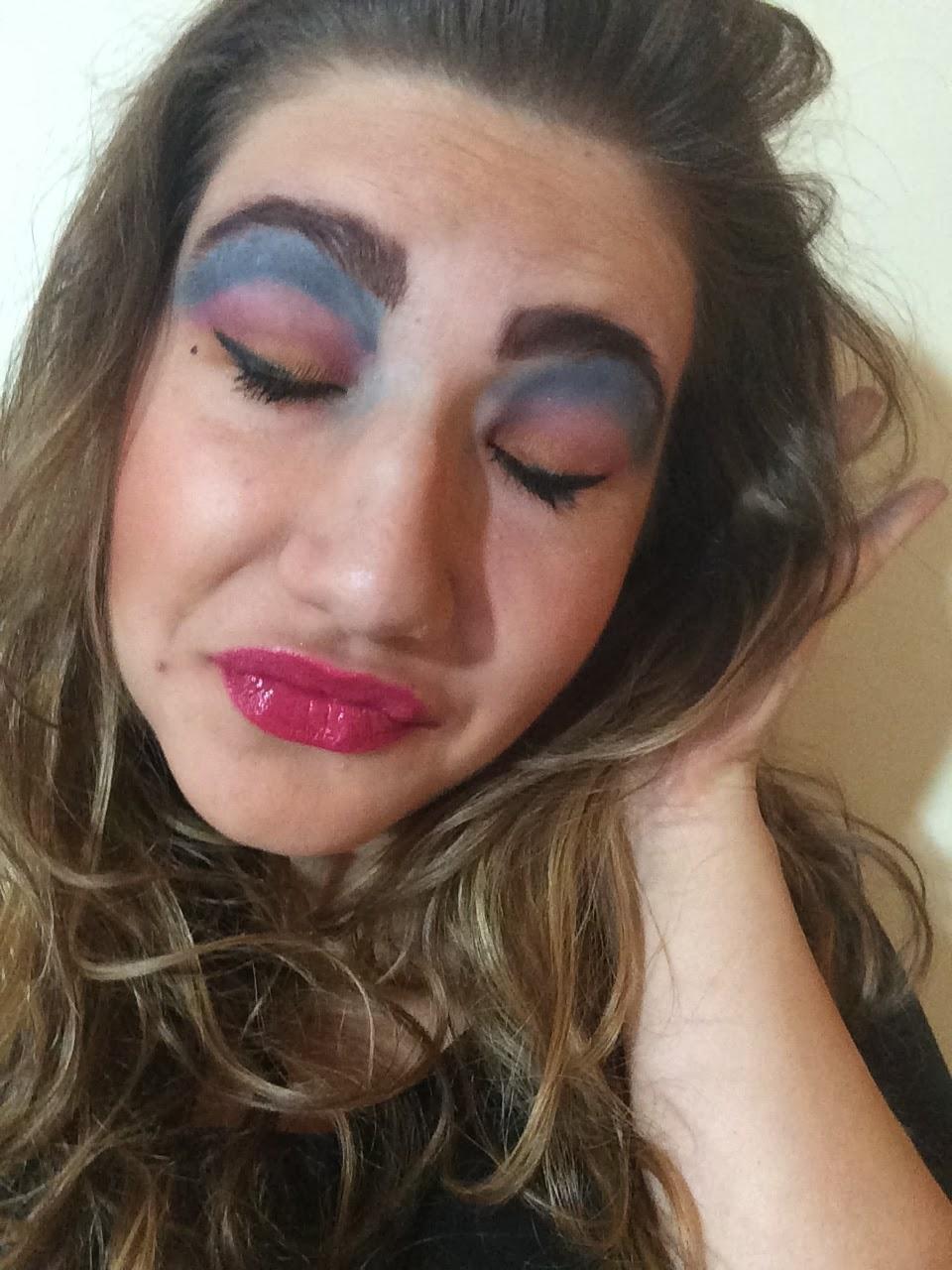 Переборщила с макияжем фото