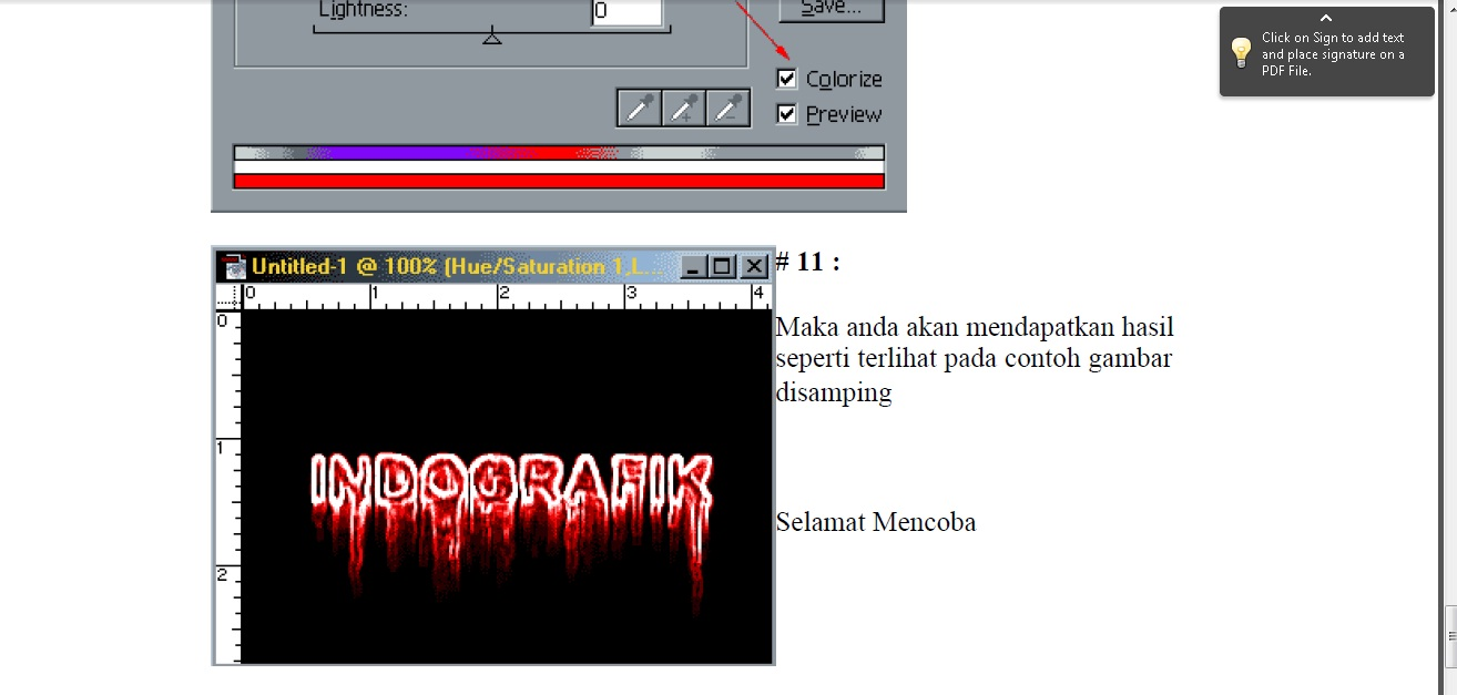 Pdf lengkap tutorial photoshop