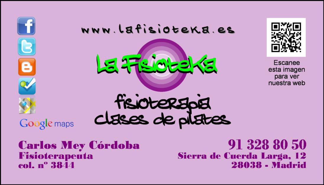 Bienvenidos al Blog de La Fisioteka: tu blog