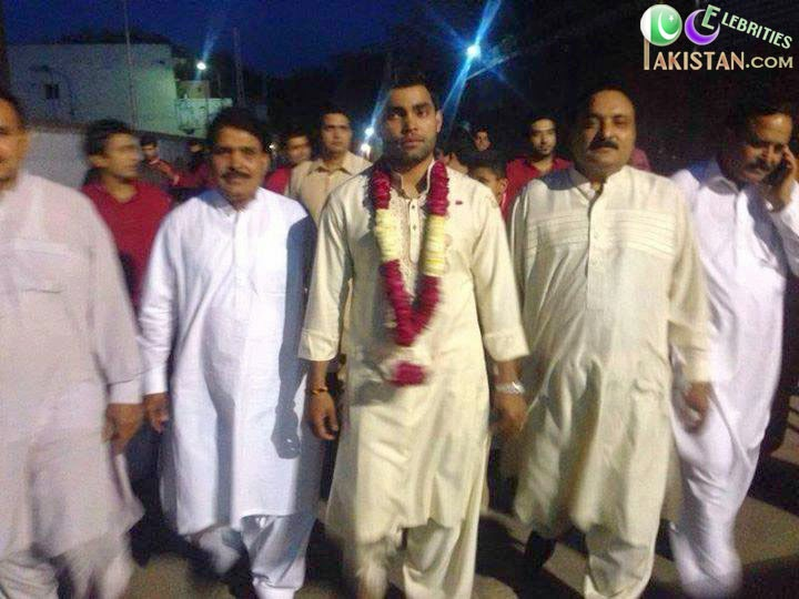 Umar Akmal Wedding Pictures
