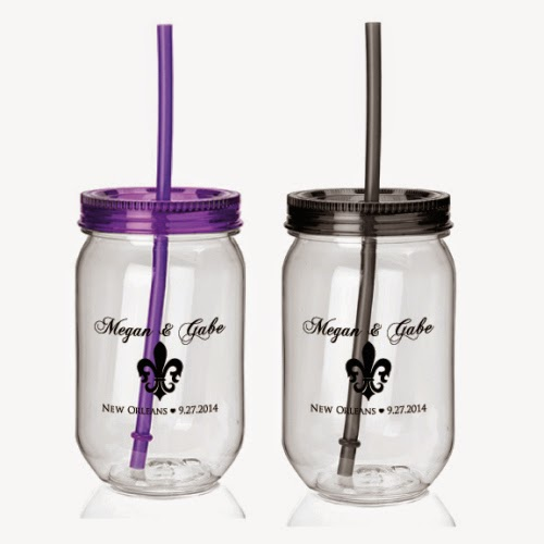 New Orleans Does Not Have An Open Container Law So We Wanted To Make Sure Our Guests Had A Cup They Could Bring From