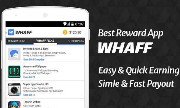 Apa itu whaff rewards cara mendapatkan uang dari whaff dengan apa saja yang diperlukan untuk menjalankan aplikasi whaff reward stopboris Images