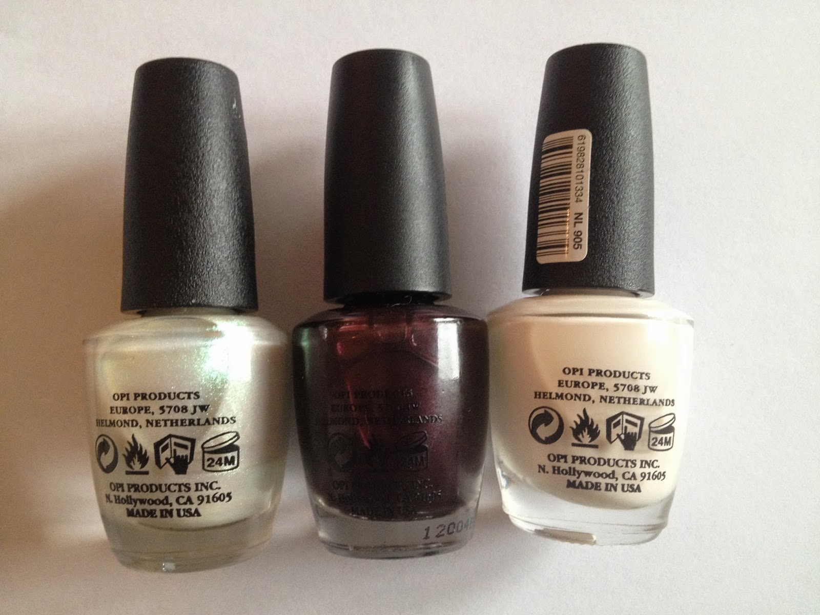 Plus10Kapow: OPI Bargains or Fakes? Cream In My Coffee, Pearl Diver ...