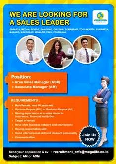 Lowongan kerja Sales Leader