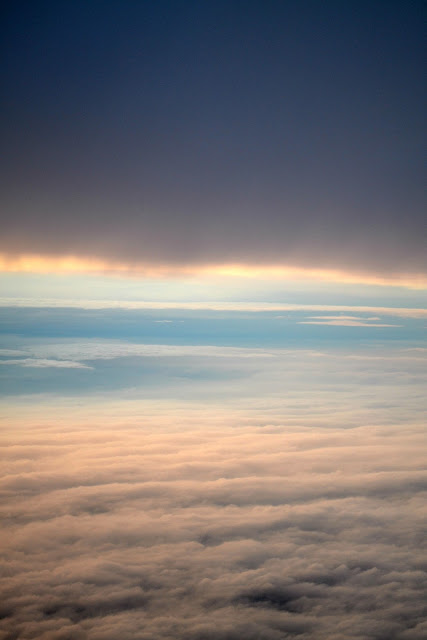 airplane, sky, flight, clouds