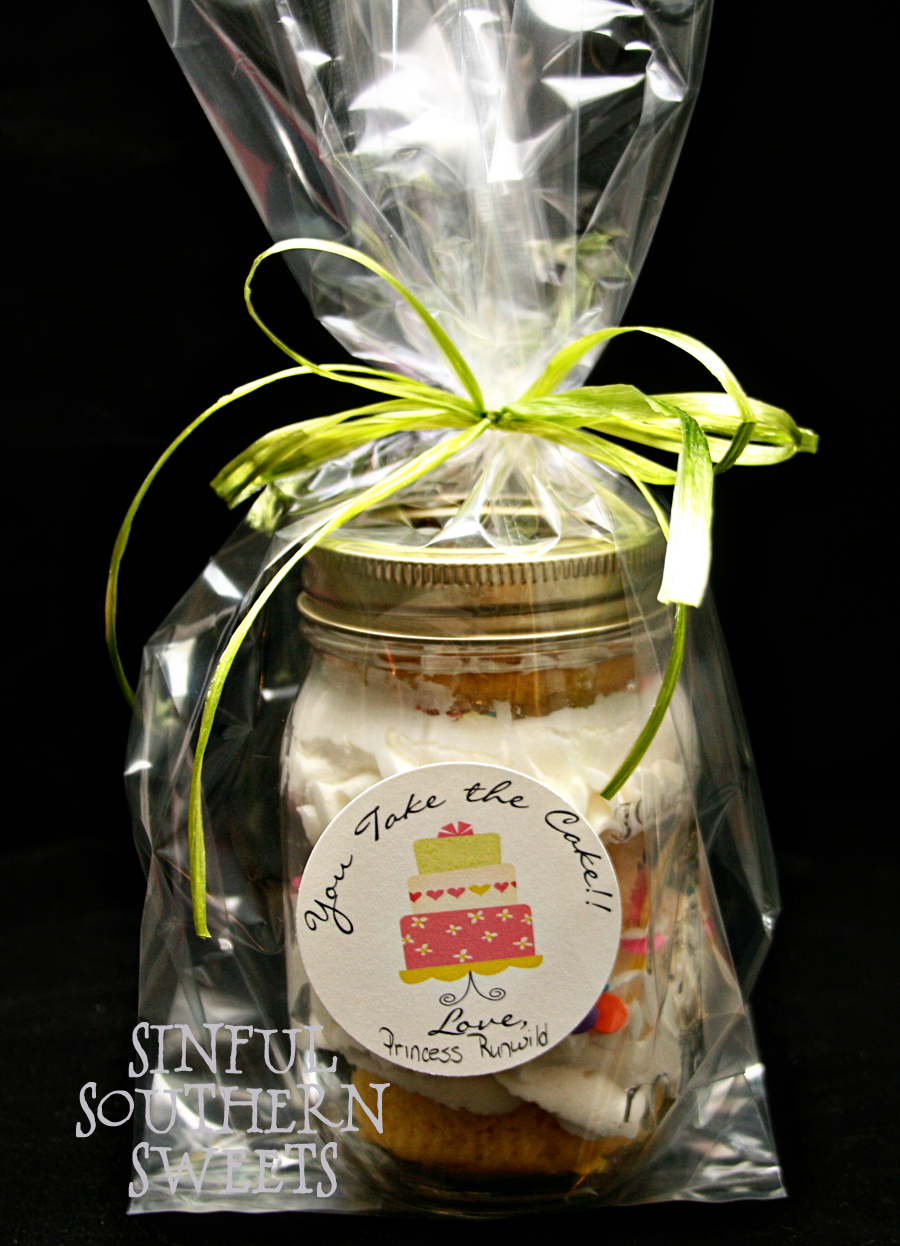 Cake Jar Designs : Sinful Southern Sweets: