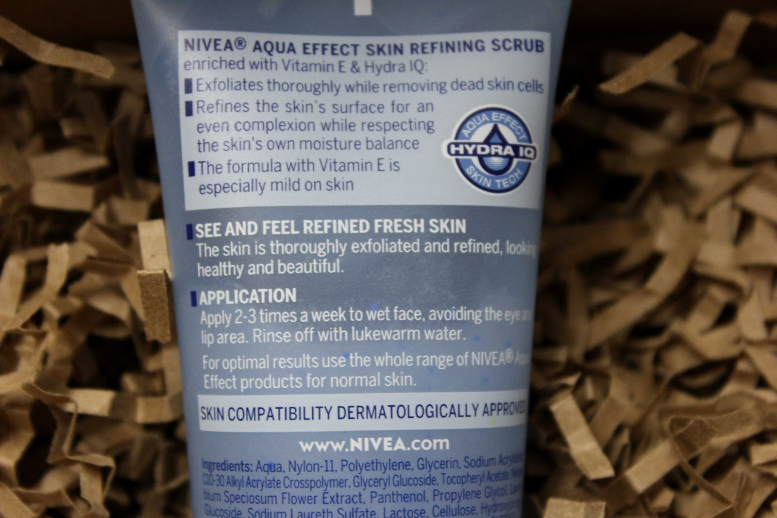 Nivea Aqua Effect Skin Refining Scrub Product Review at Perfect Skin Care for you