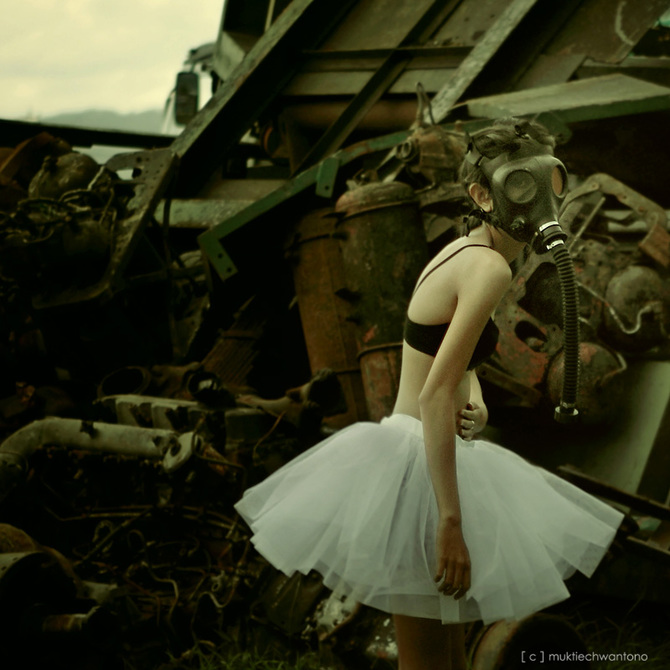 Mukti Echwantono. Field of Broken Dream