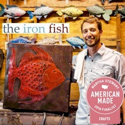 The Iron Fish Martha Stewart American Made Finalist