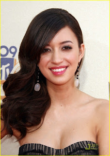 2012 New Christian Serratos Hollywood Model HQ wallpapers