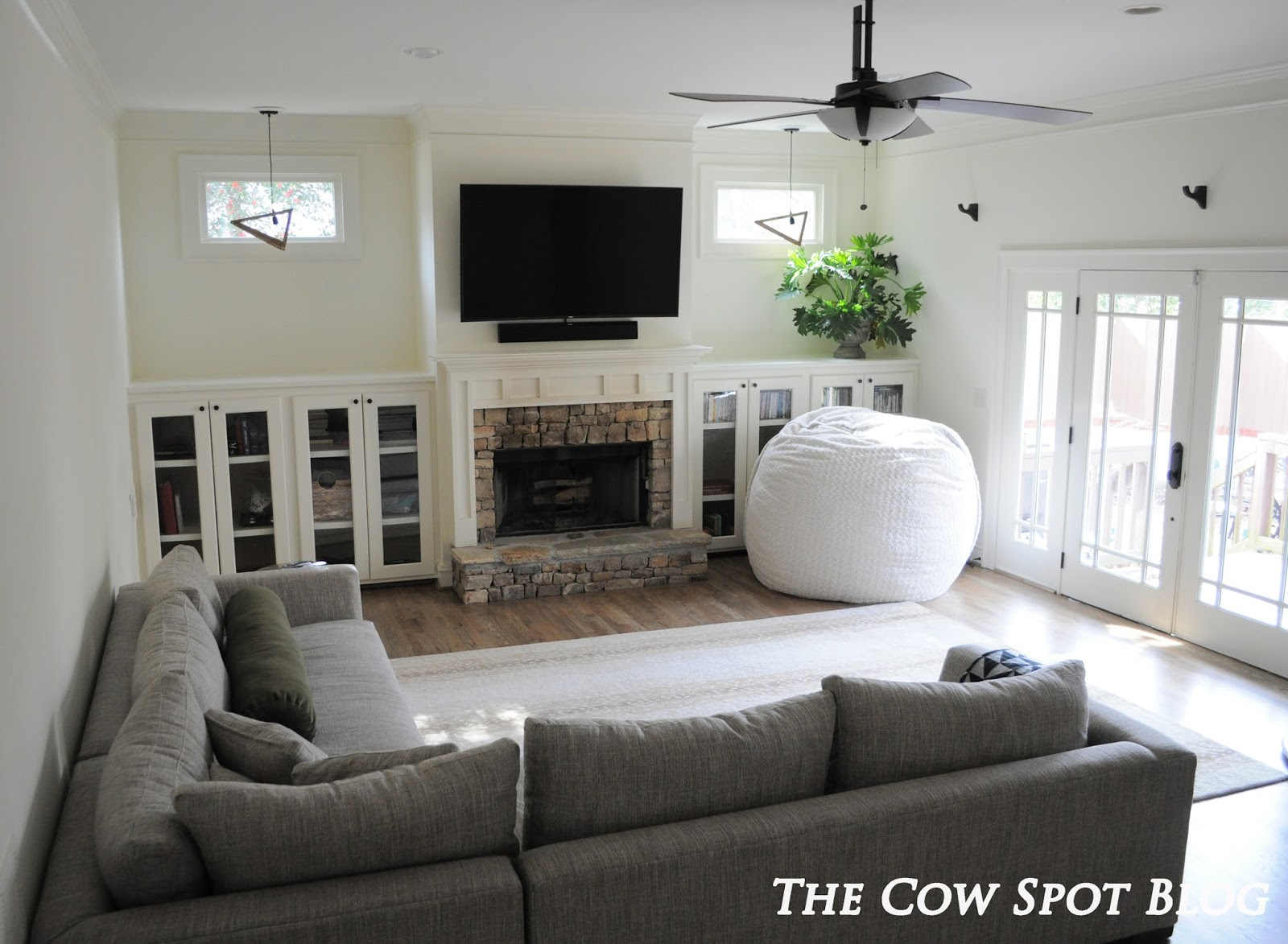 The cow spot living room updates for Living room updates
