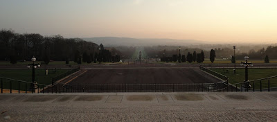 View down the Stormont Mile (or is it Stormont Kilometre?)
