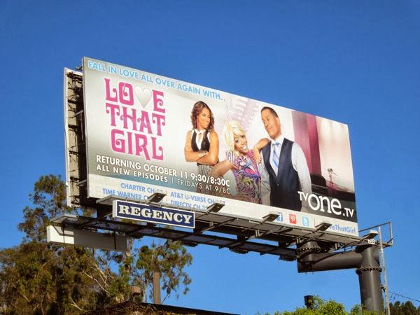 Love That Girl season 4 billboard