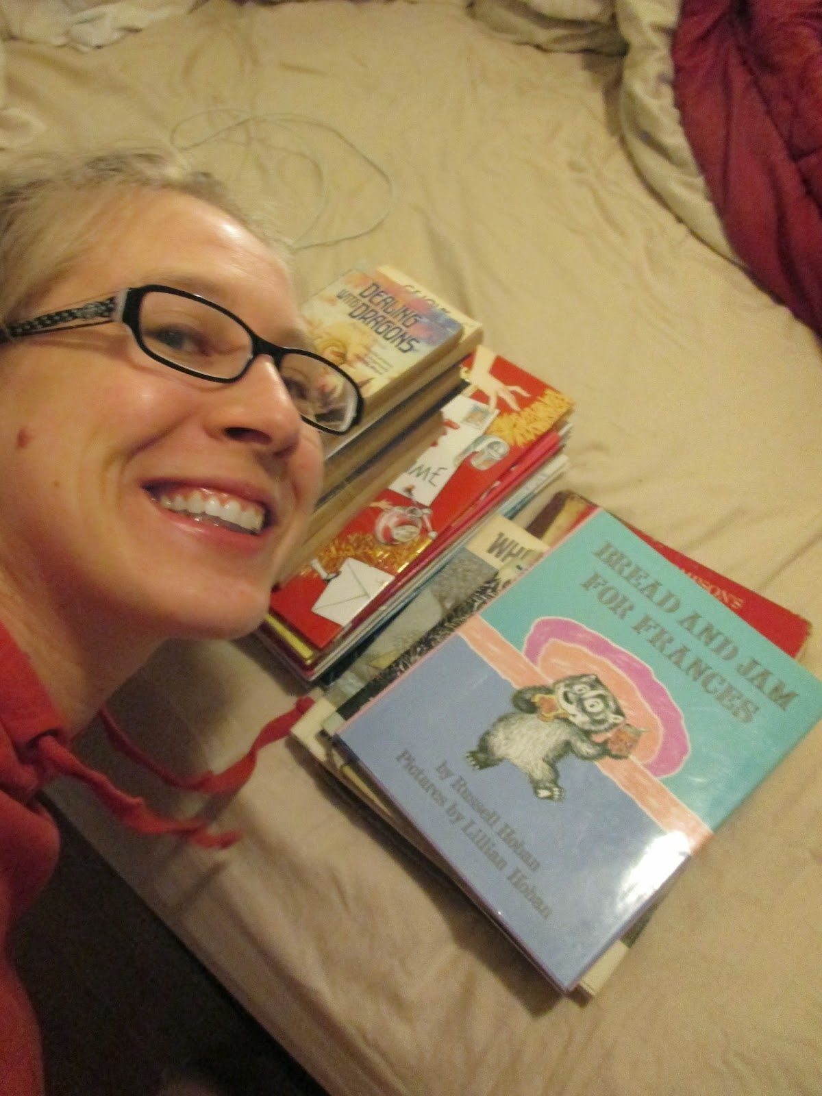 me and my favorite books