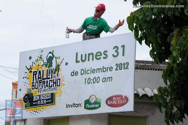 """Hoy lunes 31 """"Rally el Borracho"""""""