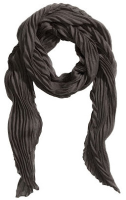 H&M Pleated Scarf
