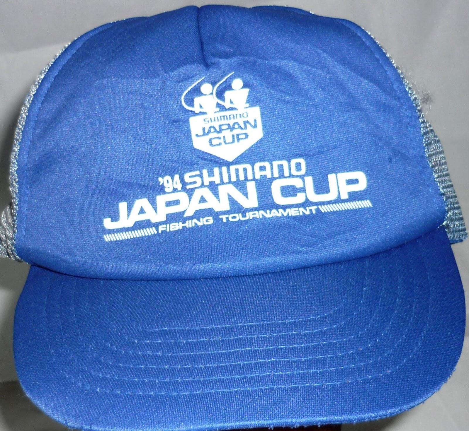fff09cdbf8e SHIMANO japan cup fishing tournament 94 cap