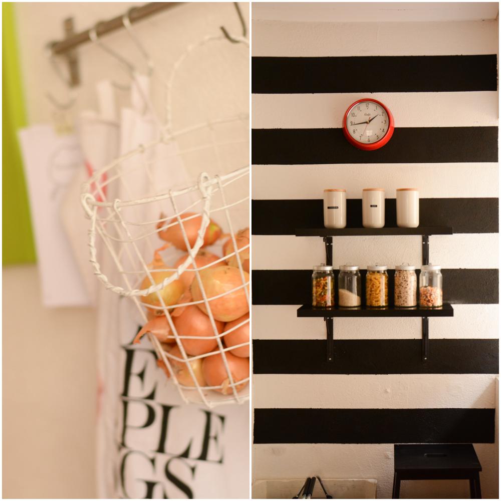 stadtkind-design: Unsere neue Küche - eine Küche in schwarzweiß