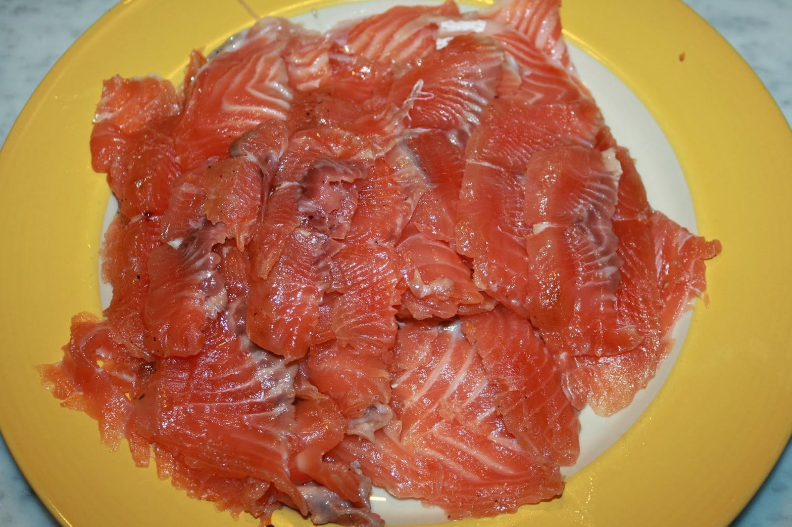antipasti sfiziosi salmone