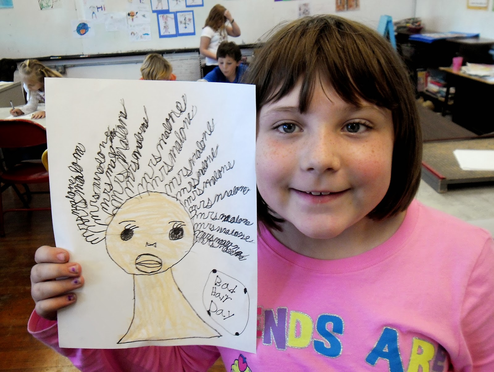 Bad Hair Day Drawings Lessons From The K 12 Art Room