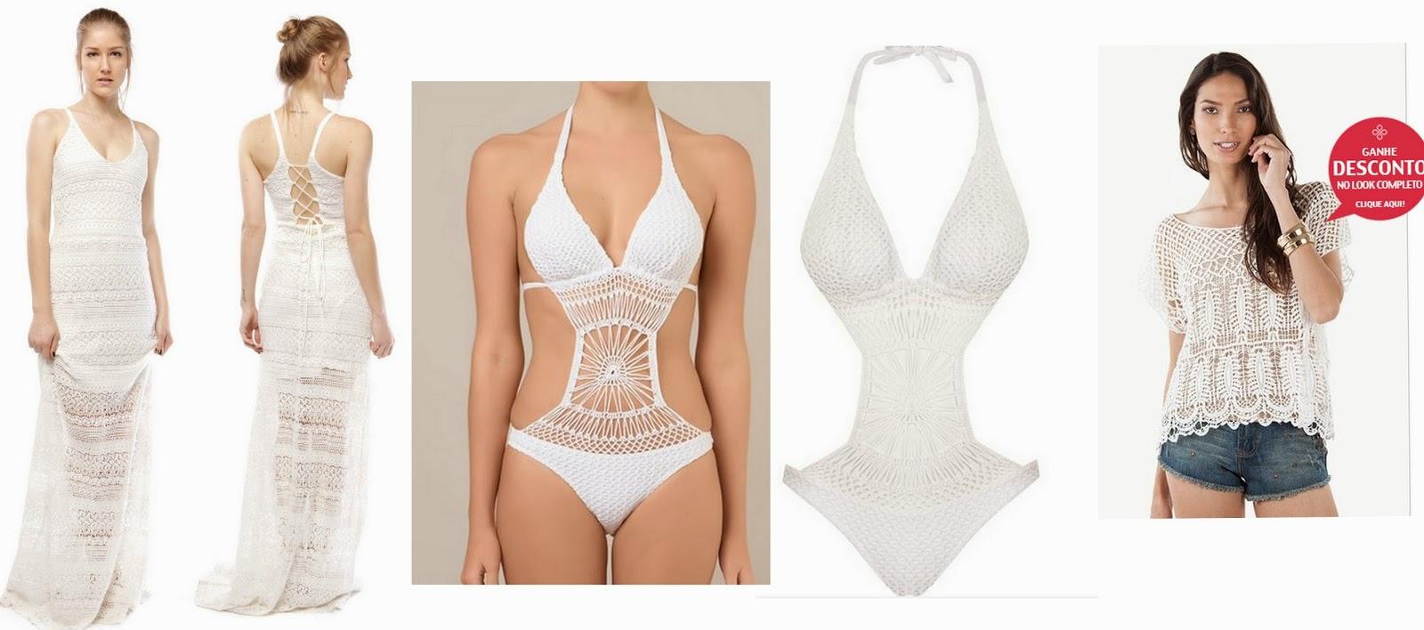 Muito Onde Comprar Roupas de Crochê Online: Tendência Moda Verão 2015  QJ49