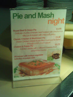 Pie and Mash Night
