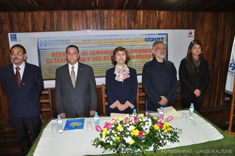La profesora Patricia Rosenzweig Levy presidió los actos del 49 aniversario del CIDIAT-ULA.  (Foto: Lánder Altuve).