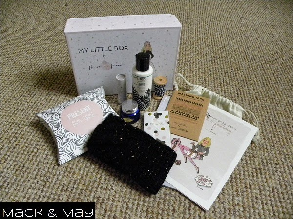 picture of contents of fleur de force my little box