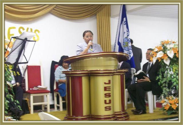 Pregando No Ministério SAL DA TERRA, em Irajá
