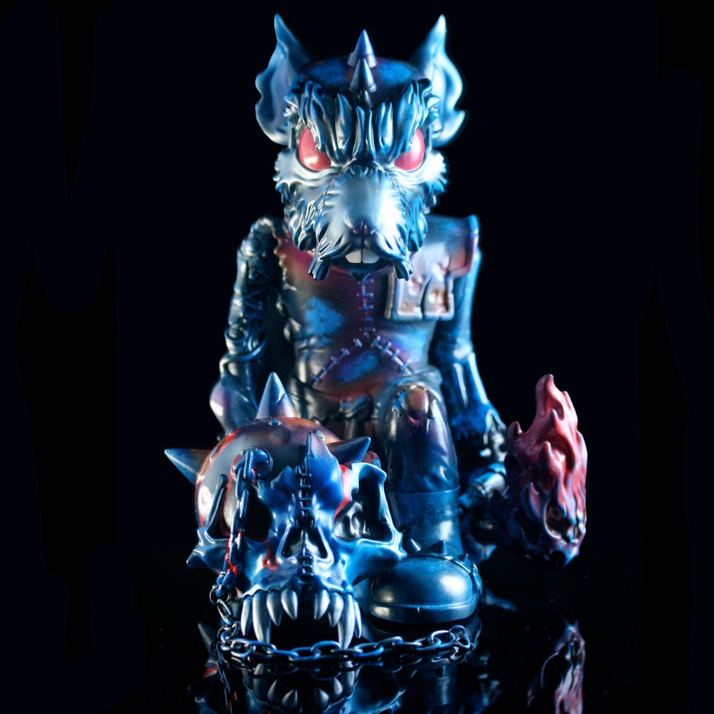 Zoetic Edition BattleRat Vinyl Figure by Mike Sutfin