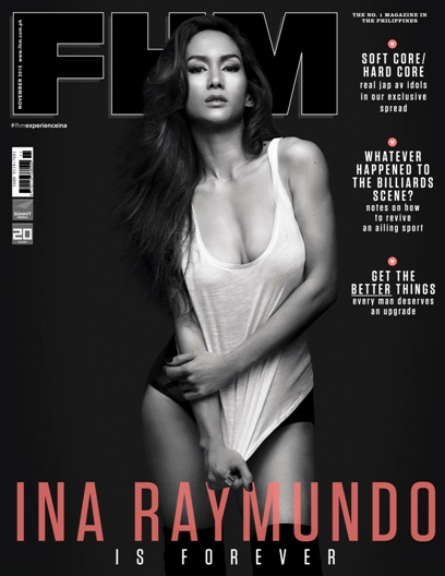Download Majalah FHM Philippines Edisi November 2015 - Ina Raymundo | www.insight-zone.com