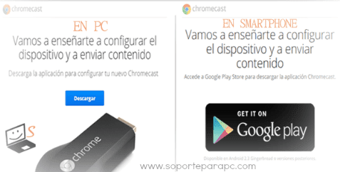 descargar app google cast en pc y android