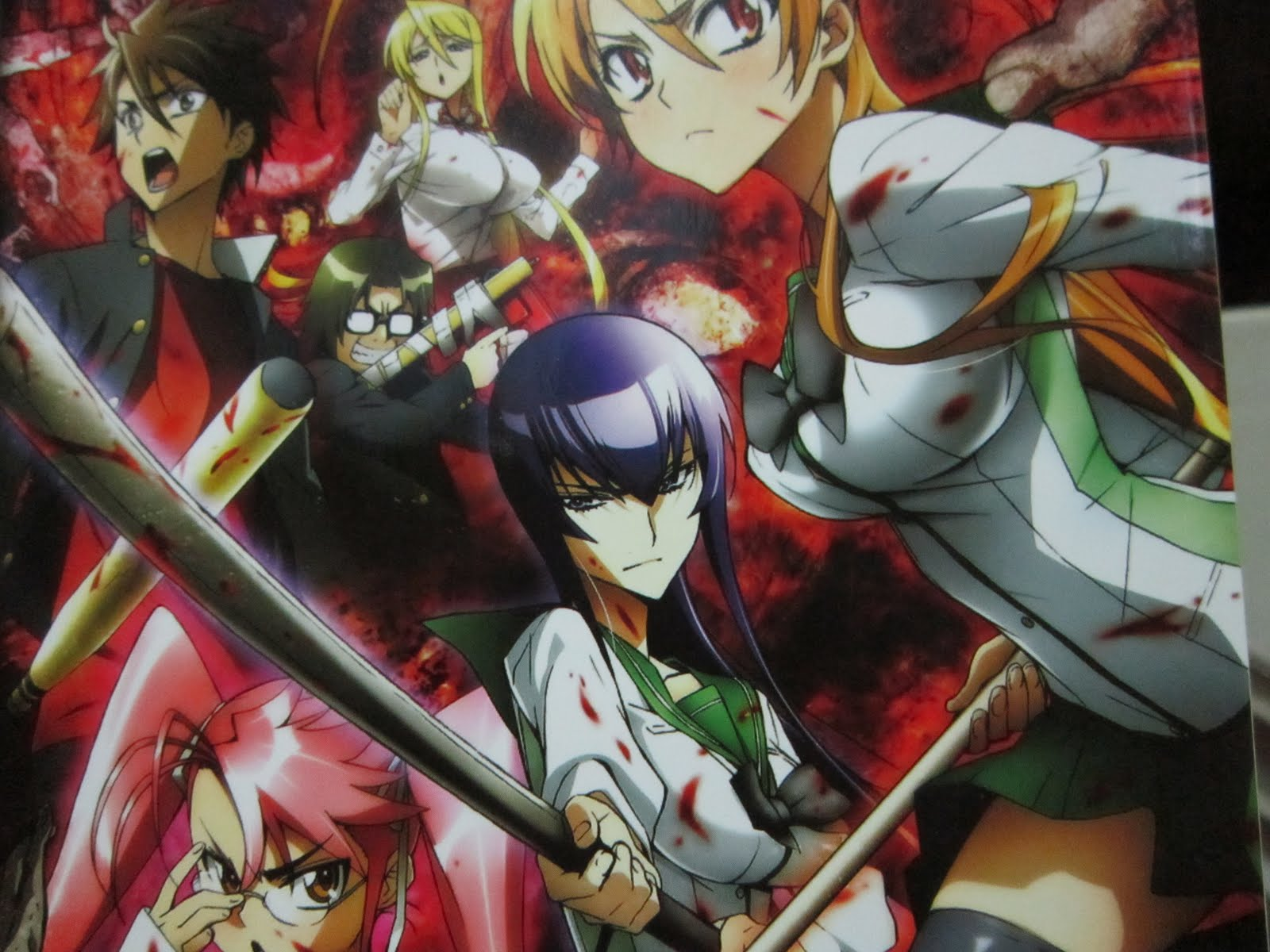 High School Of The Dead ( Anime )